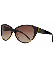 Storm Black Cateye Sunglasses
