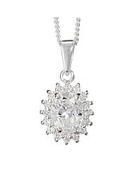 Simply Silver Kate Pendant