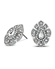 Jon Richard Elizabeth Crystal Earring