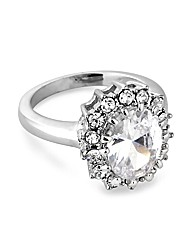 Jon Richard Cubic Zirconia Kate Ring
