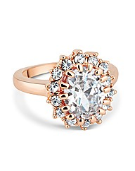 Jon Richard Kate Rose Gold Ring