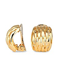 Jon Richard Weave Clip On Earring
