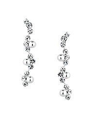 Jon Richard Diamante Crystal Earring