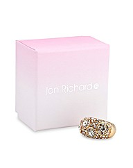 Jon Richard Solitaire Stone Gold Ring
