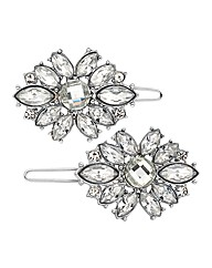 Mood Set Of Two Embellished Hair Clips