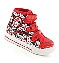 Minnie Mouse Spirit Hi Top Canvas