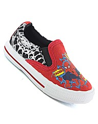 Spiderman Lorimer Slip On Canvas