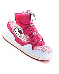 Hello Kitty Nevis Hi Top Trainer
