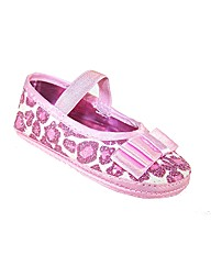 Sparkle Club Pink Soft Sole Baby Shoes