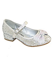 Sparkle Club Silver Glitter Party Shoes