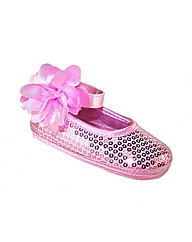 Sparkle Club Pink Softsole Baby Shoes