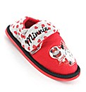 Minnie Border Red Slipper