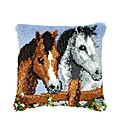 Latch Hook Kit - Cushion - Horses