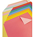 Double Sided Rainbow Card - 30 Sheets