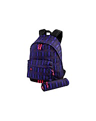 Adidas Backpack with Pencil Case - Pink