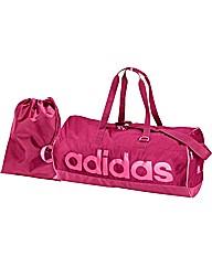 Adidas Linea 2 Piece Holdall Set - Pink