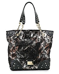 Hollywood metallic shopper