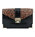 Las Vegas leopard clutch bag