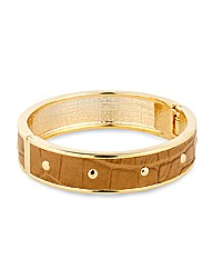 Mood Studded Hinged Bangle