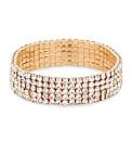 Mood Diamante Crystal Stretch Bracelet