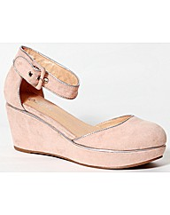 Stawberry Open Waist Wedge