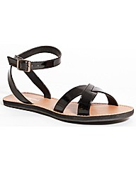 Strawberry Flat Crossover Sandal
