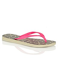 Havaianas Animals Toe Post