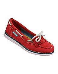 Ladies Cree Red Shoe