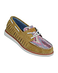 Ladies Trapper Tan Shoe