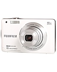 Fuji FinePix JX660 Camera White 16MP