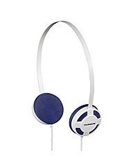 Thomson HED1112W/BL Stereo Headphones