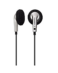 Thomson EAR1030 Earphones Black/Silver