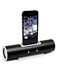 iPod/MP3 Tube Shaped Speaker Dock