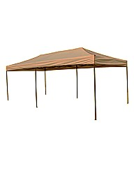 3x6m Pop Up Steel Showerproof Gazebo