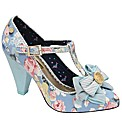 Babycham Kimberly Floral court shoes