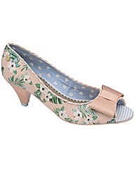 Babycham Uma Hawaiian peep-toe shoes