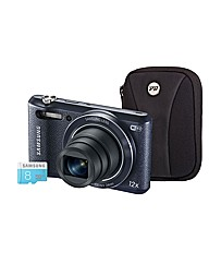 Samsung WB35F Smart Black Camera Kit