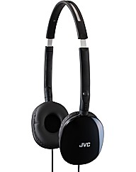 JVC Foldable On-Ear Headphones  - Black