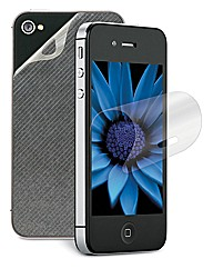3M Screen Protector + Back- iPhone 4/s