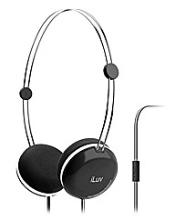 iLuv IHP614 Sweet Cotton Headphones Blck