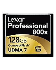 Lexar 128GB 800x Pro Compact Flash Card