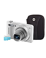 Samsung WB35F Smart White Camera Kit