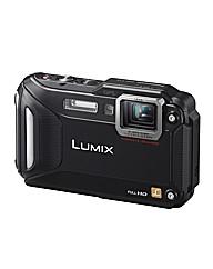 Panasonic DMC-FT5 3D Camera Black 16MP