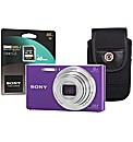 Sony DSC-W830 Purple Camera Kit