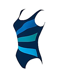 Zoggs Ocean Bloom Scoopbk Swimsuit