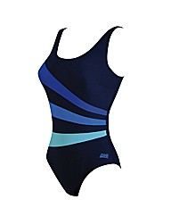 Zoggs Blue Bazaar Sandon Scoopback