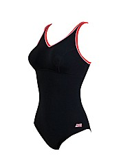Zoggs Contour V Neck swimsuit