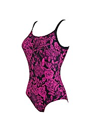 Zoggs Water Rose High Back swimsuit