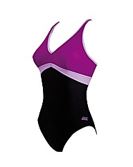 Zoggs Aqua Chic Crossback swimsuit