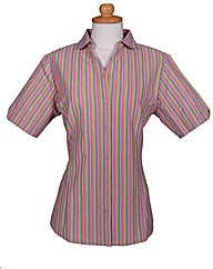 Double TWO Woman Stripe Blouse